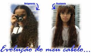 Evolução do meu cabelo...